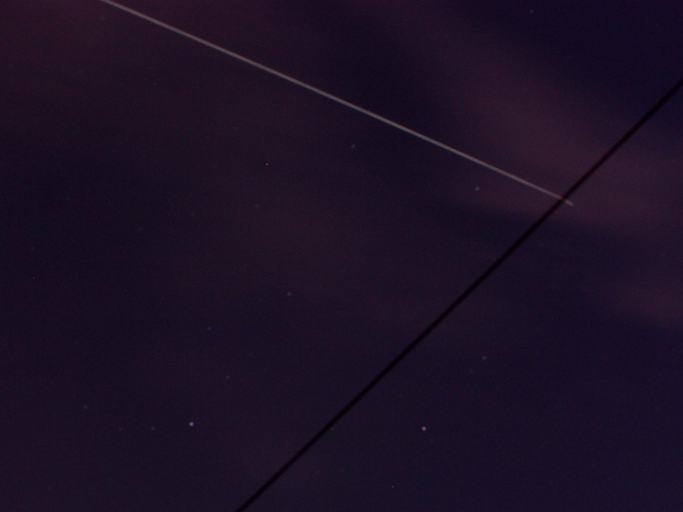 ISS and the washing-line