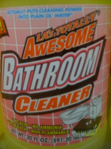 Awesome Bathroom Cleaner