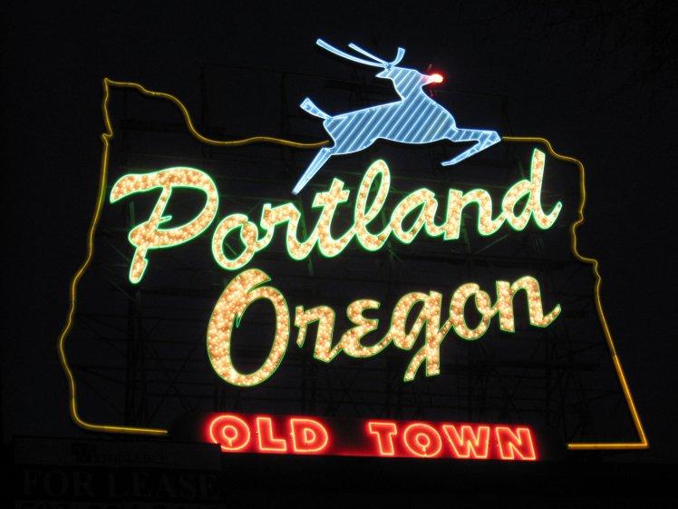 Portland Neon Sign