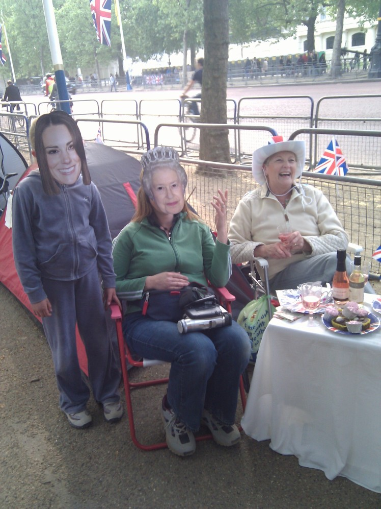 Camping out for the Royal Wedding