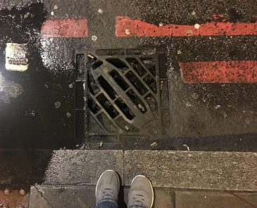 My drain in Euston